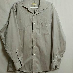 Michael Kors Size 17 34-35 No-iron Button Down Shi